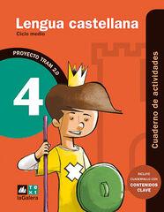 CASTELLANO-ACTIVIDADES TRAM 2.0 4º PRIMARIA Text 9788441221154