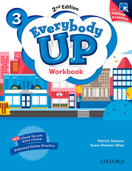 EVERYBODY UP 3 2 EDITION WORKBOOK WITH ONLINE PRACTICE Oxford 9780194106405