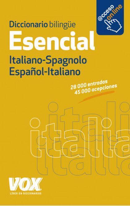 Diccionario Esencial Español-Italiano /I Vox 9788499741376