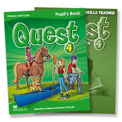 MCM E4 Quest/AB pack/14 Macmillan-Text 9780230478701
