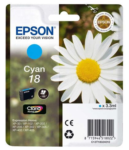 REC.ORIGINAL EPSON T18 CIAN