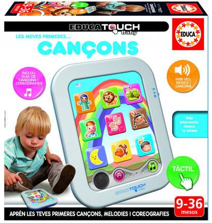 Tabla táctil Educa Touch Baby Primeras canciones