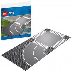 LEGO City Curvas y cruce (60237)
