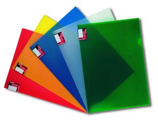 Funda folio Abacus Plástico Uña Transparente A4
