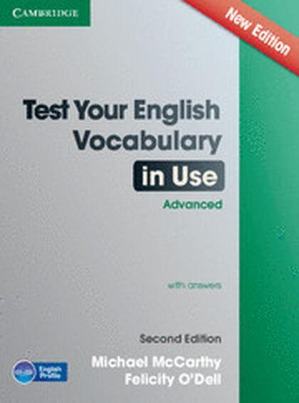 CUP USE/Test-vocabulary ADV 2E/+key Cambridge 9781107670327