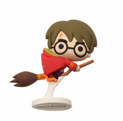 Figura Mini Harry Potter Nimbus Capa Roja