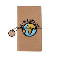 Funda de pasaporte Helio Ferretti Kraft - World