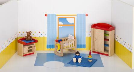 Casa de muñecas Goki Muebles de habitación infantil