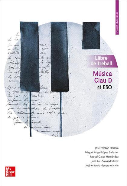 Música-quadern/Clave D ESO 4 McGraw-Hill Text 9788448619046