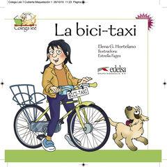 LA BICI TAXI COLEGA LEE 2 Edelsa 9788477116479