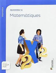 MATEMÀTIQUES QUADERN 14 SABER FER 5e PRIMÀRIA Grup Promotor Text 9788491302964