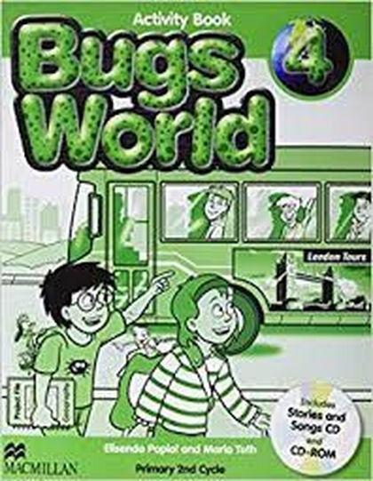 Bugs World New/AB Pack PRIMÀRIA 4 Macmillan-Text 9780230407527