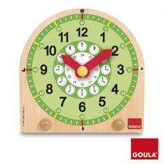 Juego didáctico Goula Reloj escolar