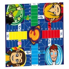Juego Super 3 Parchís - Oca de la familia supers