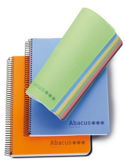 Note Book Abacus A4 5x5 160 hojas