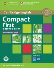 CUP Compact First 2E/WB+audio Cambridge 9781107428553