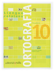 ORTOGRAFIA CATALANA 10 4t PRIMÀRIA SM 9788466110976