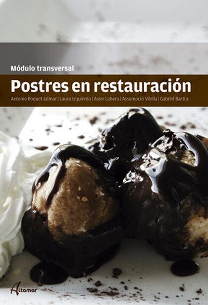 POSTRES RESTAURACIÓN CICLOS FORMATIVOS Altamar 9788415309741