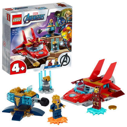 LEGO Star wars Iron Man vs. Thanos (76170)