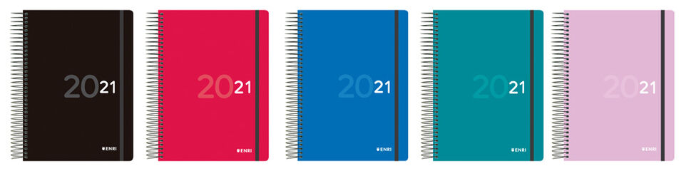Agenda Oxford Colors 2021 A5 Día Catalán