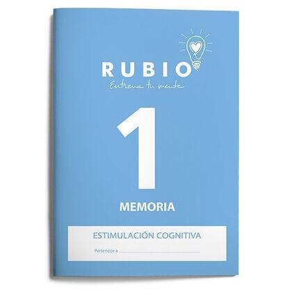 ESTCOG 1 MEMORIA Rubio 9788485109951