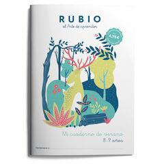 RUBIO E3 Mi cuaderno de verano 8-9 9788417427702