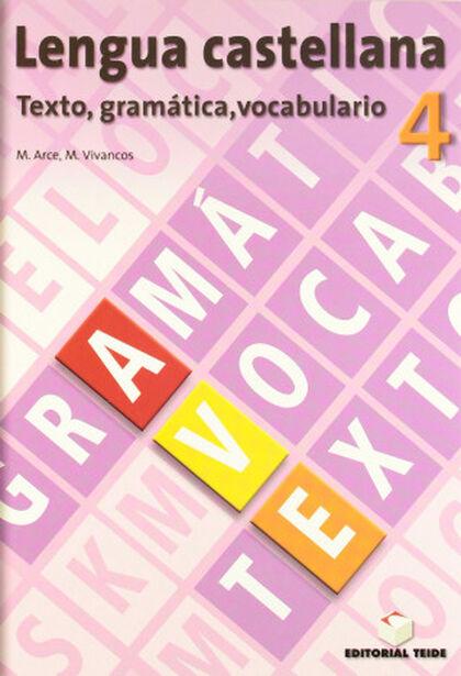 AVE/Texto gramática y vocabulario ESO 4 Teide Text 9788430749751