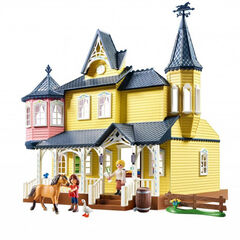 Playmobil Spirit Casa de Lucky