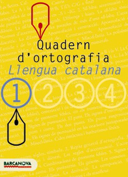 ORTOGRAFIA CATALANA 1r ESO Barcanova Quaderns 9788448917104