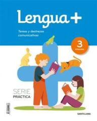 3PRI LENGUA + SERIE PRACTICA  ED18 Santillana Text 9788414111086