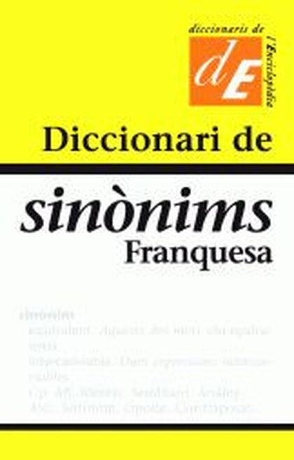 Diccionari de sinònims -Franquesa-