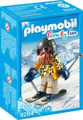 Figuras Playmobil Family Fun Invierno esquiador con snowblades