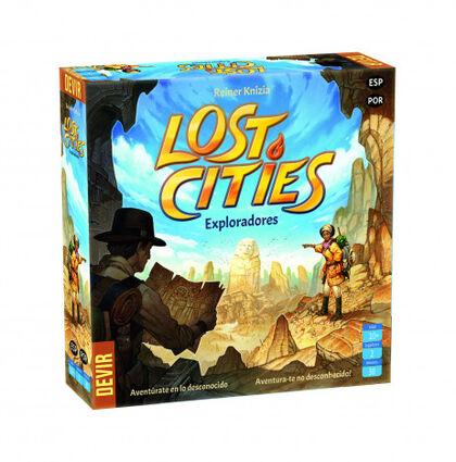 Juego de cartasLostCities- Exploradores