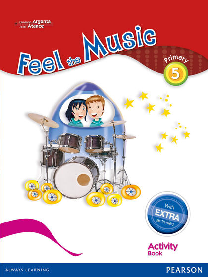 FEEL THE MUSIC ACTIVITY BOOK PACK 5º PRIMARIA Pearson 9788420564401