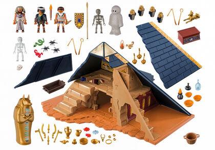 Playmobil History Pirámide faraón history