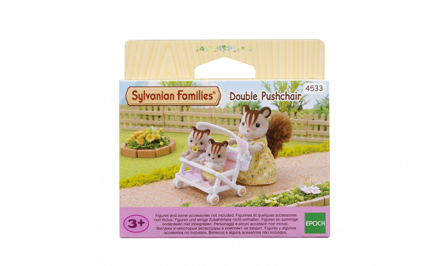 Sylvanian Families Cochecito gemelos Abacus Online