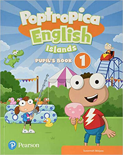 POPTROPICA ENGLISH ISLANDS LEVEL 1 HANDWRITING PUPIL´S BOOK WITH ONLINE 1r Primària Pearson 9781292312880