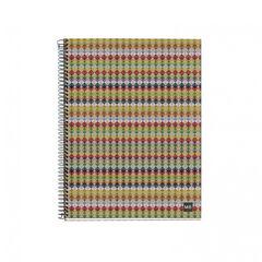 Cuaderno espiral Miquelrius Reciclado (modelo surtido) A5 5x5 120F