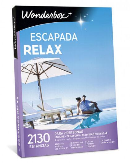 Pack de experiencia Wonderbox Escapada relax 2017-2018