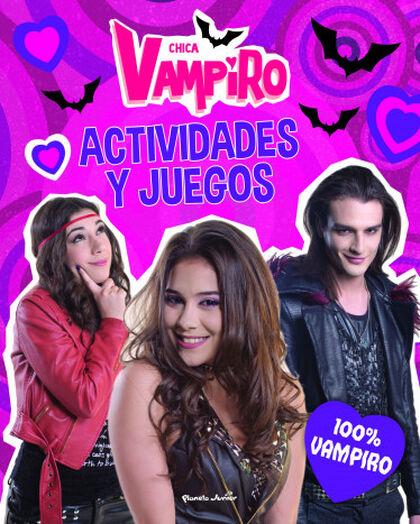 Chica Vampiro. Actividades y juegos. 100