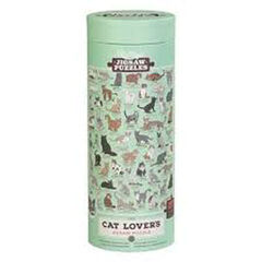 Puzzle Wild & Wolf Cat Lovers