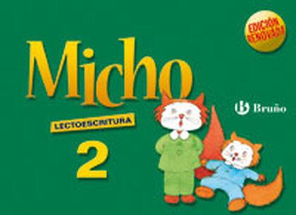 LECTOESCRITURA 2 MICHO INFANTIL Bruño Text 9788421651025