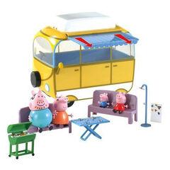 Peppa Pig Amigos y caravana