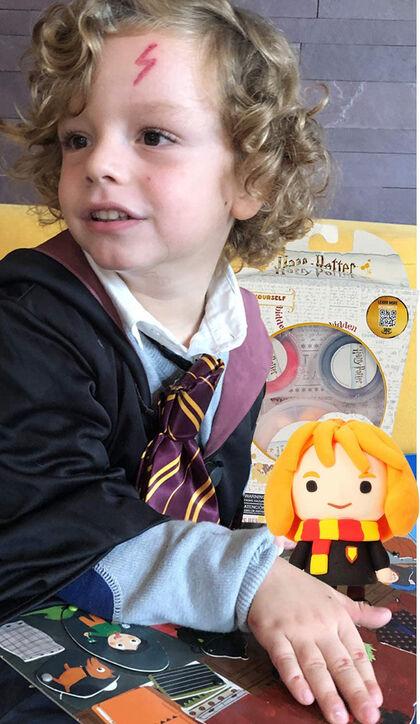 Hermione Granger súper Dough Harry Potter - do it Yourself Serie 1