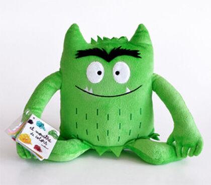 Monstre de colors verd- peluix