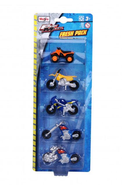 Vehículos Fresh metal Set de motos 1:72