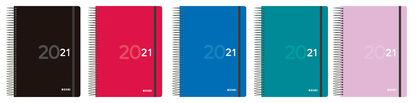 Agenda Oxford Colors 2021 A5 Multilingüe Semana