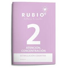ESTCOG 2 ATENCIÓN Rubio 9788489773301