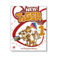 New Tiger 1/AB Bk PRIMÀRIA 1 Macmillan-Text 9781380008886