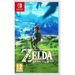 Legend Zelda: Breath of the Wild SWITCH